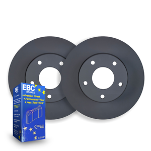 FRONT DISC BRAKE ROTORS+ PADS for BMW F48 X1 xDrive 20d 2.0TD 10/2015 On RDA8463