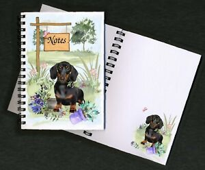 Dachshund-Smooth-Dog-Notebook-Notepad-small-image-on-every-page-by-Starprint