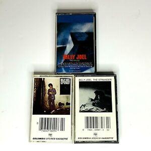 Billy Joel Cassette Tape Music Lot of 3: The Stranger - 52nd Street - The Bridge