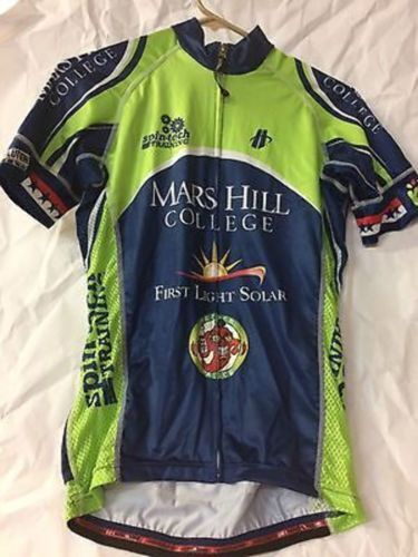 Hincapie Velocity SS Jersey Men's S Mars Hill College Cycling Road Bike Small
