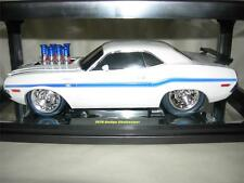 M2 70 DODGE CHALLENGER R/T WHITE GASSER IN LIMITED TO ONLY 500 PCS. .MIB 1:18