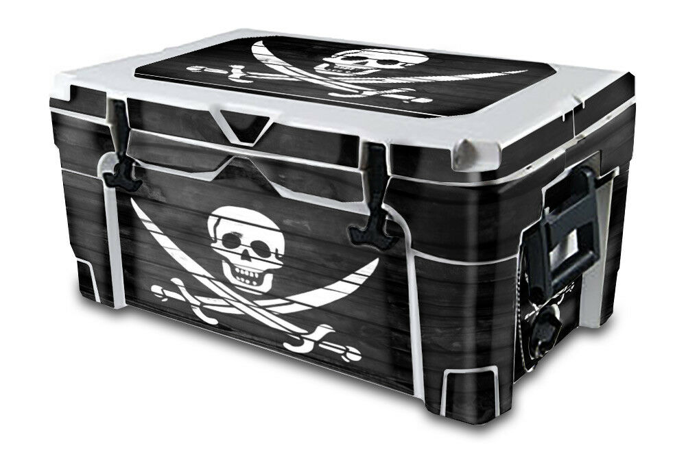 USATuff Decal Wrap Full Kit fits IGLOO  Sportsman 55qt Cooler Pirate Flag WD  online cheap