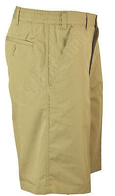 S30 Mens Plain Casual Summer Elasticated Walking Shorts Big Size 32-54 waist