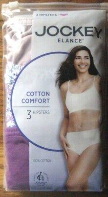 Ropa interior para mujer ElanceTM Hipster Jockey/® paquete de 3