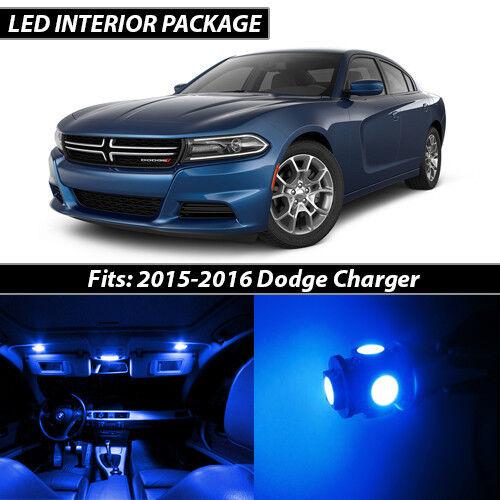 2015-2016 Dodge Charger Blue Interior LED Lights Package