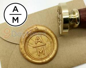 Image Is Loading Personalized Initials Wax Seal Stamp Custom Wedding Invitation