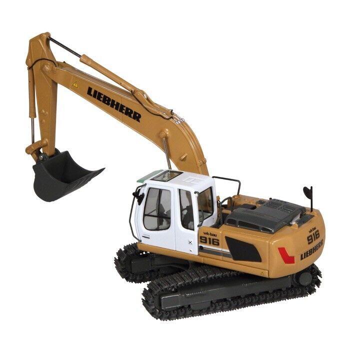NZG art.891 03 Liebherr R 916 Classic litronic excavadoras  WK-construcción  1 50