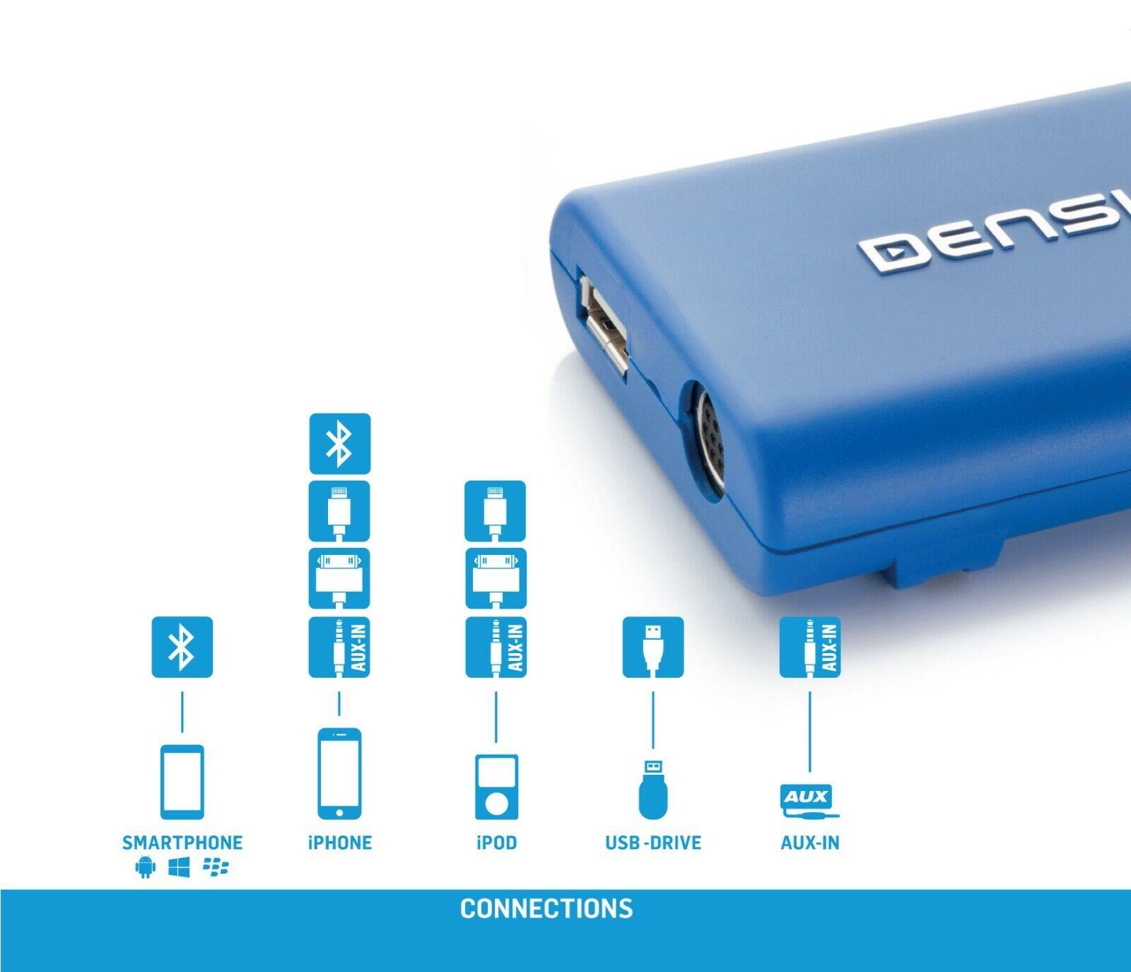 Dension GW33BM4 BMW E46 E39 USB iPod iPhone Interface 40 PIN Anschluss