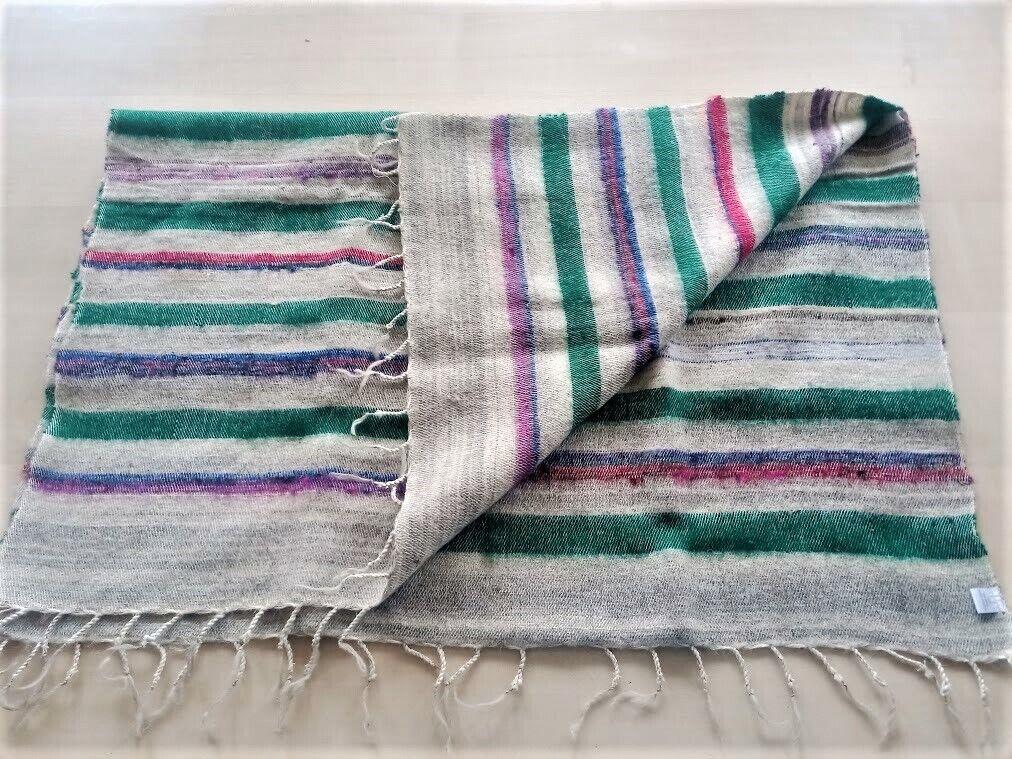 Decke / Schultertuch Wollmischung/Yakwolle