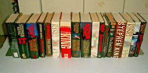 Lot-of-17-Stephen-King-First-1st-Edition-1st-Print-Hardcover-DJ-Books-IT-Danse