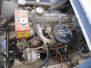 volvo penta motor engine aq125b inboard boat 2 1l ebay rh ebay com Volvo Repair Manual Volvo Factory Service Manuals
