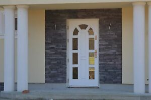 30m verblendstein innen au en anthrazit naturstein stein wand verblender ebay. Black Bedroom Furniture Sets. Home Design Ideas
