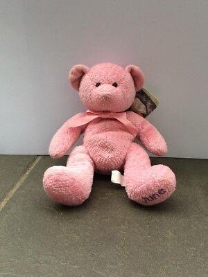 """Collezione Qui Russ """"orsi Del Mese"""" Rosa Teddy Bear """"giugno"""" Con Etichette-mostra Il Titolo Originale Risparmia Il 50-70%"""