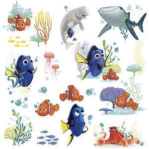 disney finding dory  wall decals nemo bailey fish room decor, Home decor