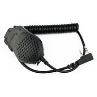 2 PIN Handheld PTT Speaker Radio Mic For Retevis KENWOOD BAOFENG WOUXU PUXING