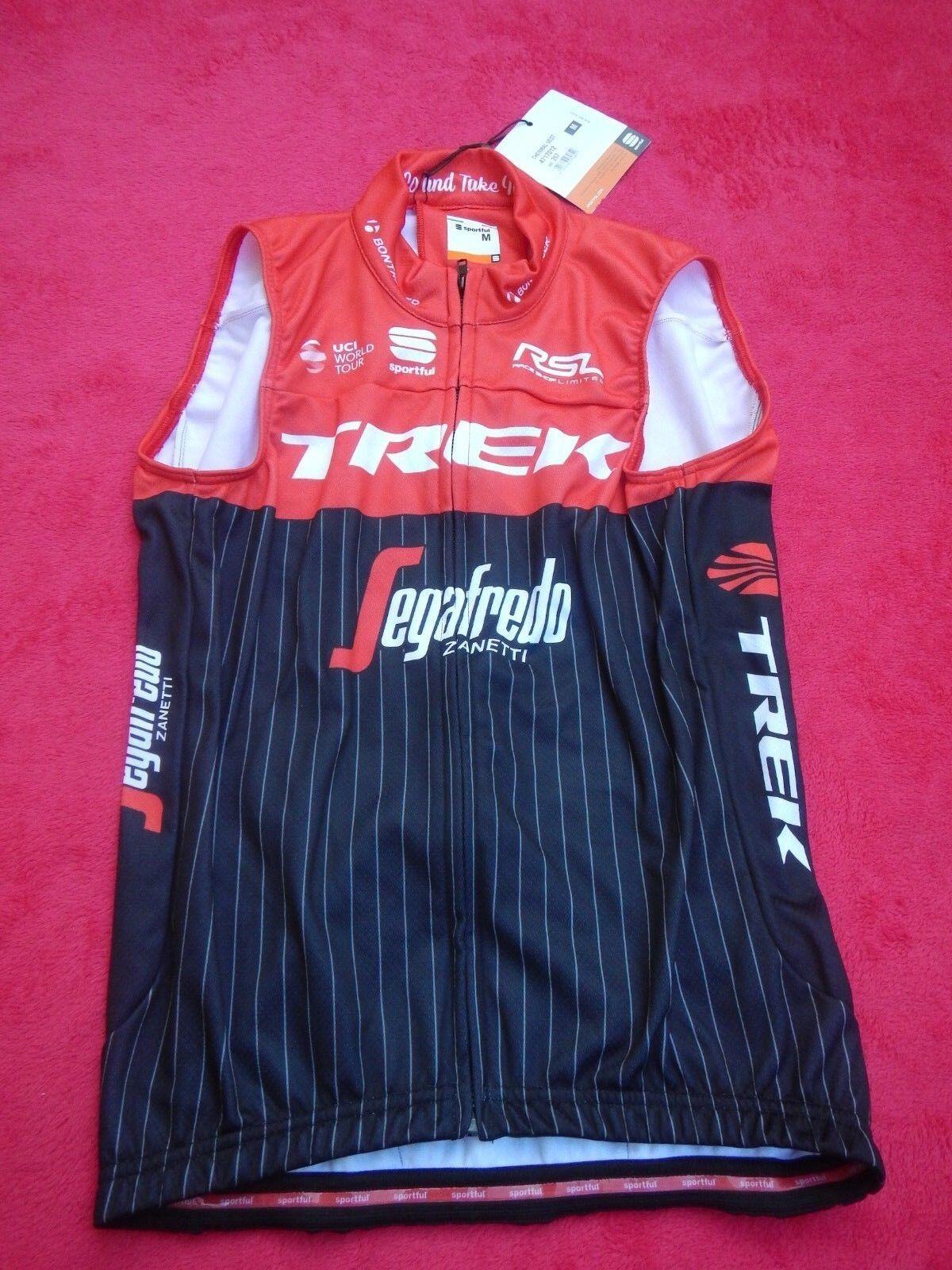 Original Team Trek Factory Segafredo Pro Team Cycling  Wind Weste Gr. M Neu  outlet sale
