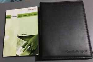 2006 Toyota Corolla S Owners Manual Pdf