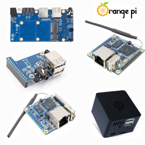 Orange Pi Zero// Zero NAS 256//512MB H2 WiFi SBC Erweiterung Tafel ABS Case AHS