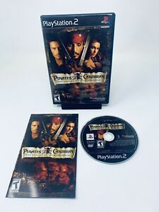 Pirates of the Caribbean The Legend of Jack Sparrow Sony PlayStation 2, PS2