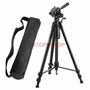 JUSTOP-Professional-Pan-Tilt-Head-DSLR-Travel-Tripod-For-Canon-Nikon-Sony-Camera