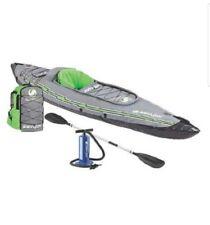 Coleman 2000014137 Sevylor 1-Person Durable Inflatable Coverless Quikpak Kayak