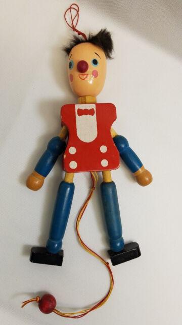 Australian Wooden Pull String Dancing Puppet