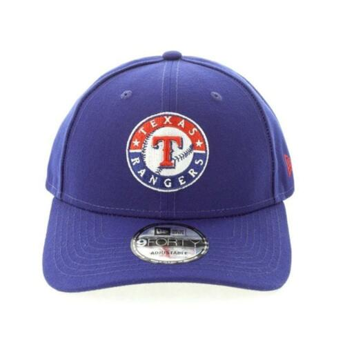 Texas Rangers New Era MLB m 9Forty Hat In Blue Genuine Merchandise
