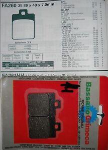 Pastiglia freno posteriore I494097 PIAGGIO NRG 50 MC3 DD 2005 Rear disc model