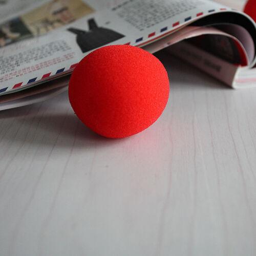10pcs Close-Up Magic Street Classical Comedy Trick Soft Red SpongeBalls Props CC