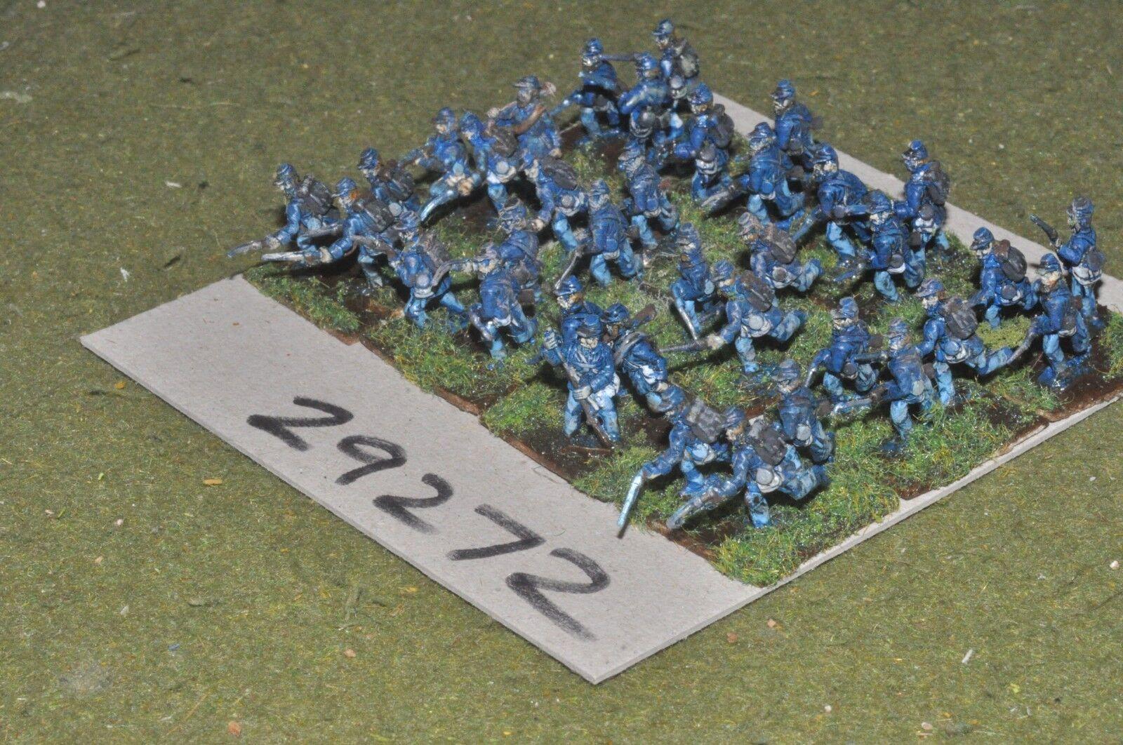 15 15 15 mm ACW Union-Regt 36 figures-INF (29272) 531384