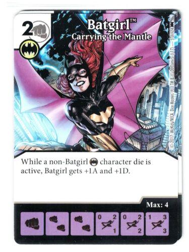 Batgirl Carrying the Mantle #5 Die /& Card DC Dice Masters Batman