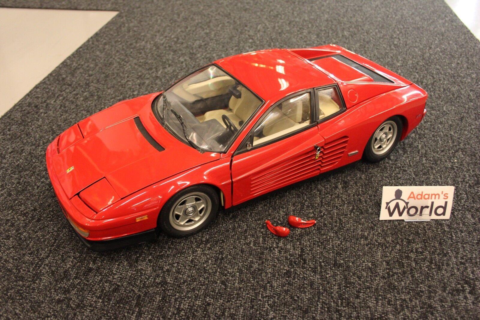 Pocher nicely built kit Ferrari TeEstrellaossa 1 8 rojo