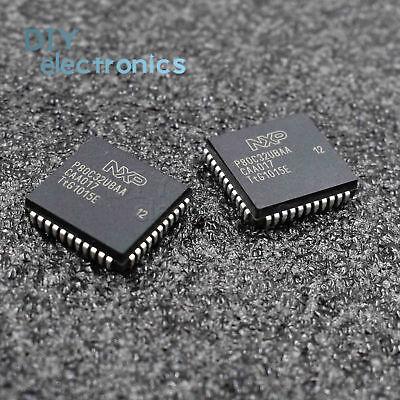 5 PCS P80C32UBAA PLCC-44 8 bit CMOS microcontroller new