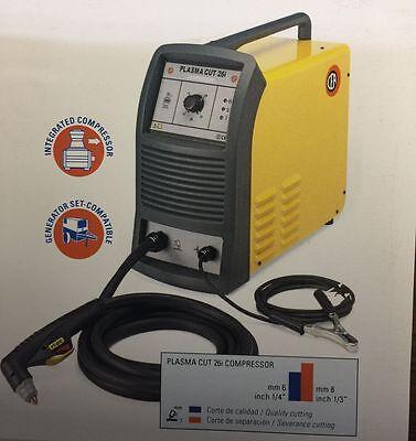 Maquina de Corte por Plasma Cut 26i Compresor integrado Hecha en Italia CEA WELD