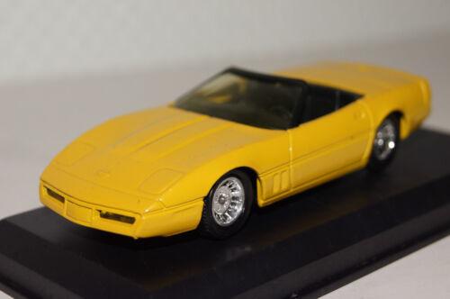 Corvette C4 Cabrio 1990 gelb 1:43 Solido neu ohne  OVP
