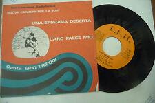 "ERIO TRIPODI""UNA SPIAGGIA DESERTA-disco 45 giri DEM 1968"""