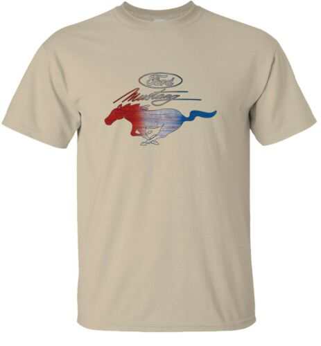 Ford American Sign Red White Blue Mustang T-Shirt