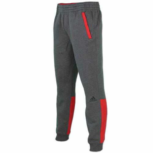 adidas Herren Sweathose Trainingshose Jogginghose Everyday Attack Pant grau-rot