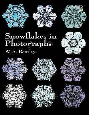 1 of 1 - Snowflakes in Photographs (Dover Pictorial Archives), Bentley, W. A., Good Condi