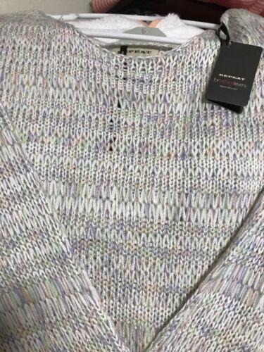 215 Retail 00 Multi Maglione Ripeti Colore m 40 Taglia HT6nOqzw