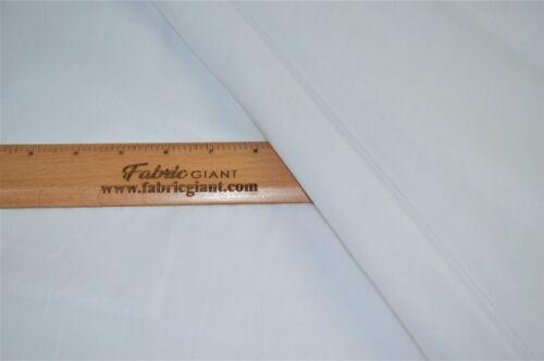 Egyptian tombant mousseline 100/% coton Fromage Tissu Blanc Ivoire largeur 150 cm