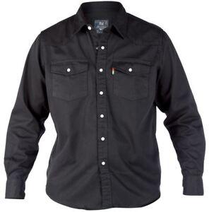 nere Camicie Duke denim Camicie denim F4wn8xz8