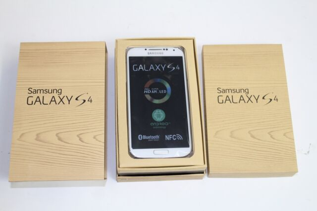 Samsung Galaxy S4 SGH-I337 - 16GB - White Frost (AT&T) Smartphone New Other