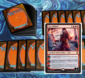 mtg-RED-AGGRO-DECK-Magic-the-Gathering-rares-60-cards-jaya-ballard-chaos-wand