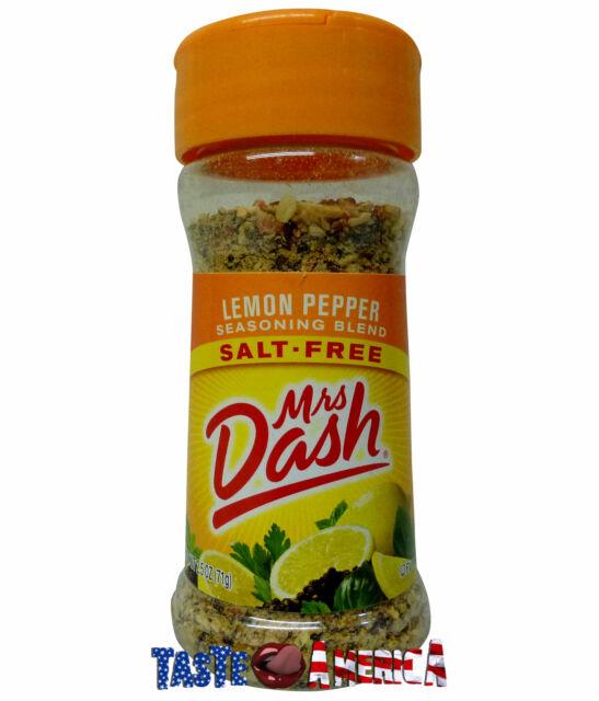 Mrs Dash Lemon Pepper Salt Free Seasoning Blend 71g