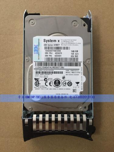"""IBM 146GB 15K 2.5/"""" SAS HDD Hard Drive 42D0678 42D0681 42D0677"""