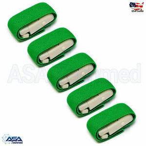 Green SOS Tourniquets Quick Release Occlusion Tourniquet Bands-one-handed use