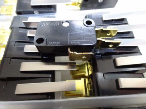 Paquete De 5 Omron V-152-1C5 V3 Palanca Microswitch 15A 250 Vac
