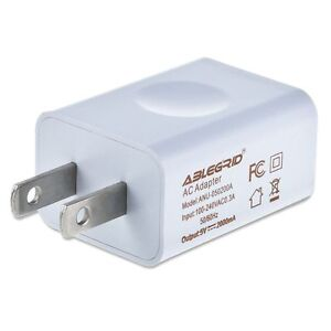 Ac Dc 5v 2a 10w Travel Home Wall Charger Adapter For