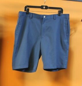 Men-s-Peter-Millar-Crown-Sport-Golf-Shorts-Blue-Size-38